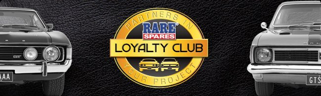 Rare Spares Loyalty Club