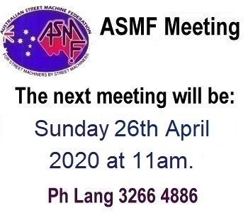ASMF Next Meeting